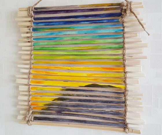 Chopstick Painting