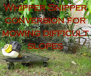 Mowing Difficult Slopes
