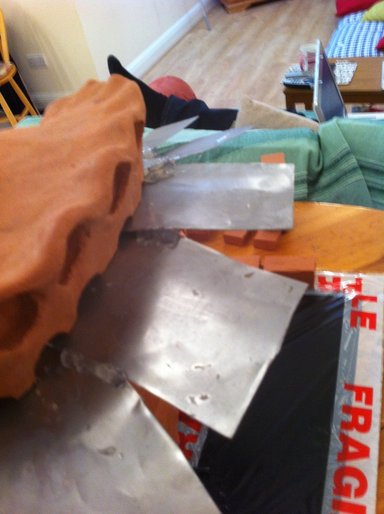 Preparing to Make the Mold
