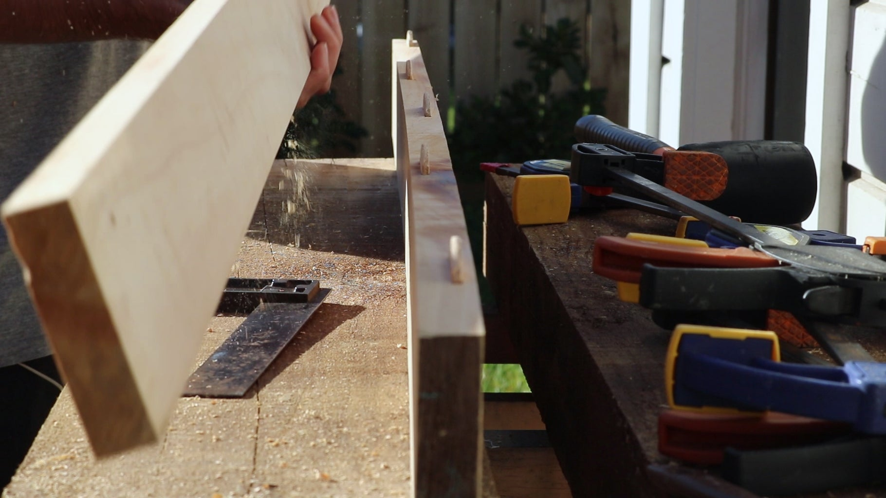Preparing the Timber