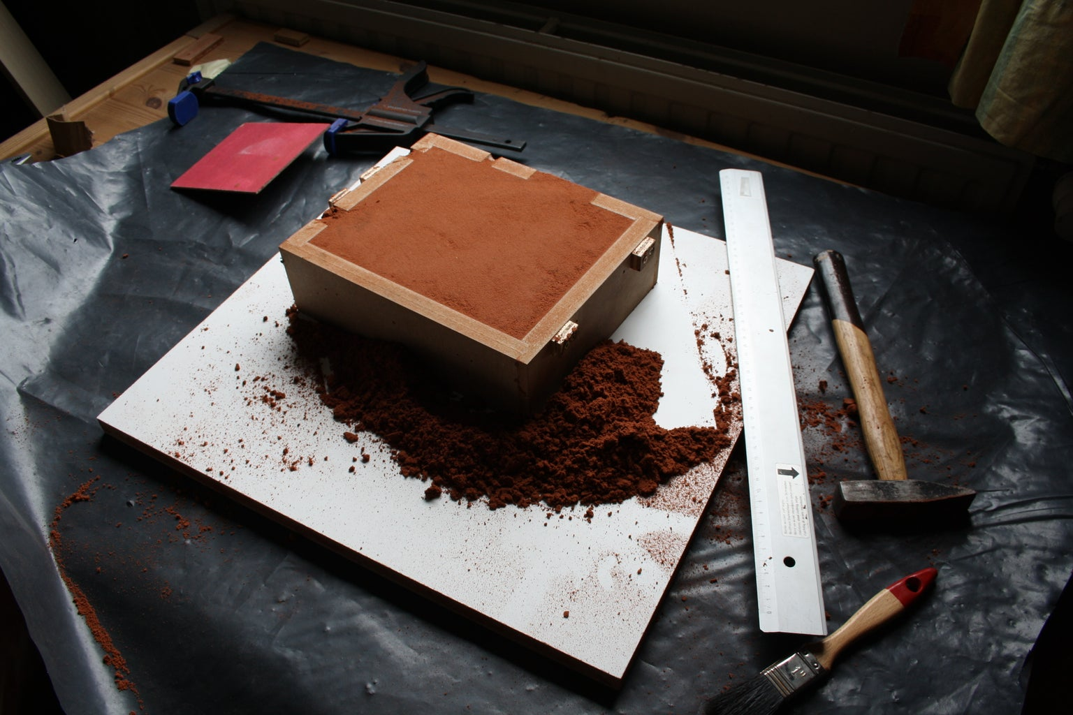 Make Mold for Sandcasting Piece of Case in Aluminum