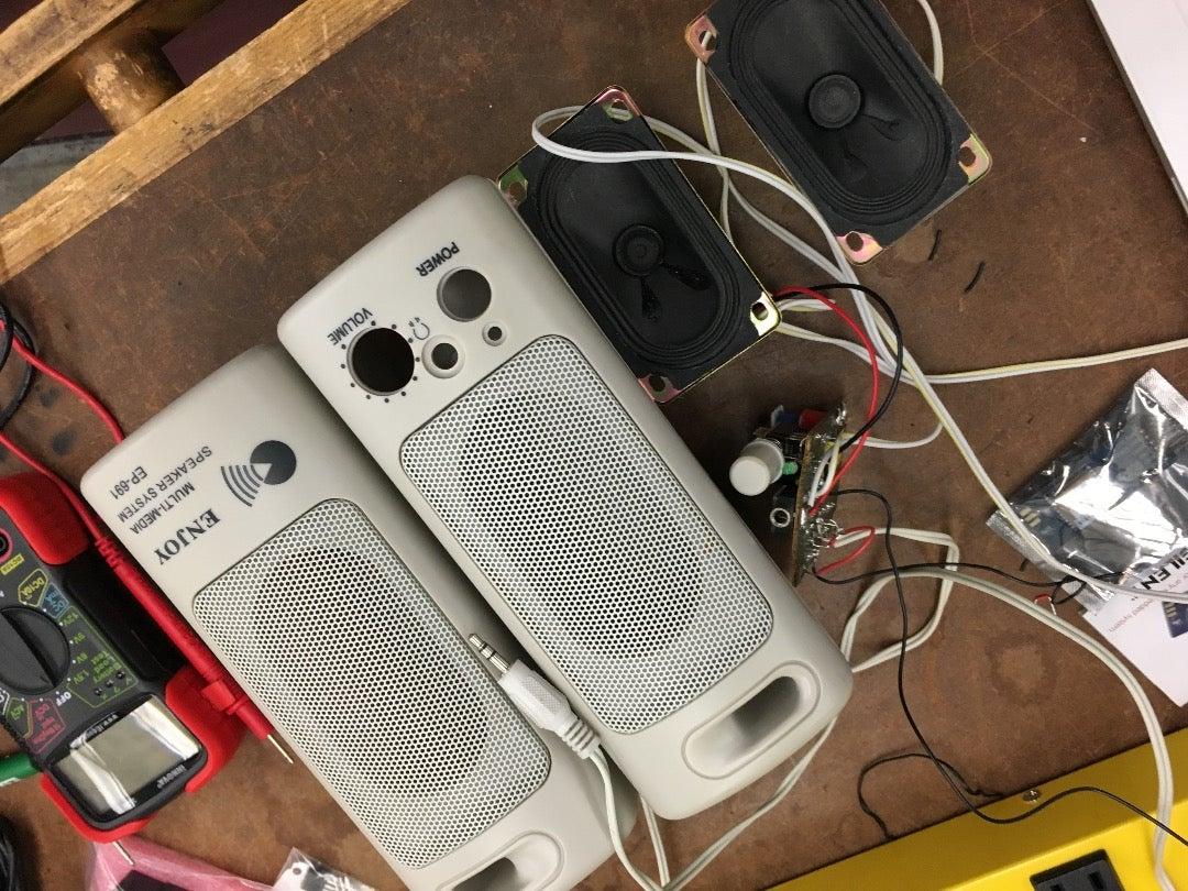 Salvage Speakers