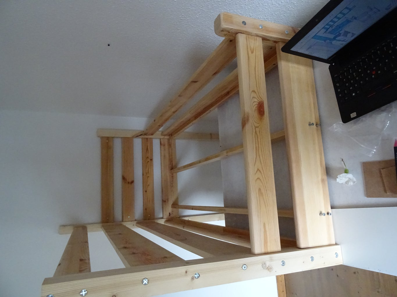 Build the Upper Bed