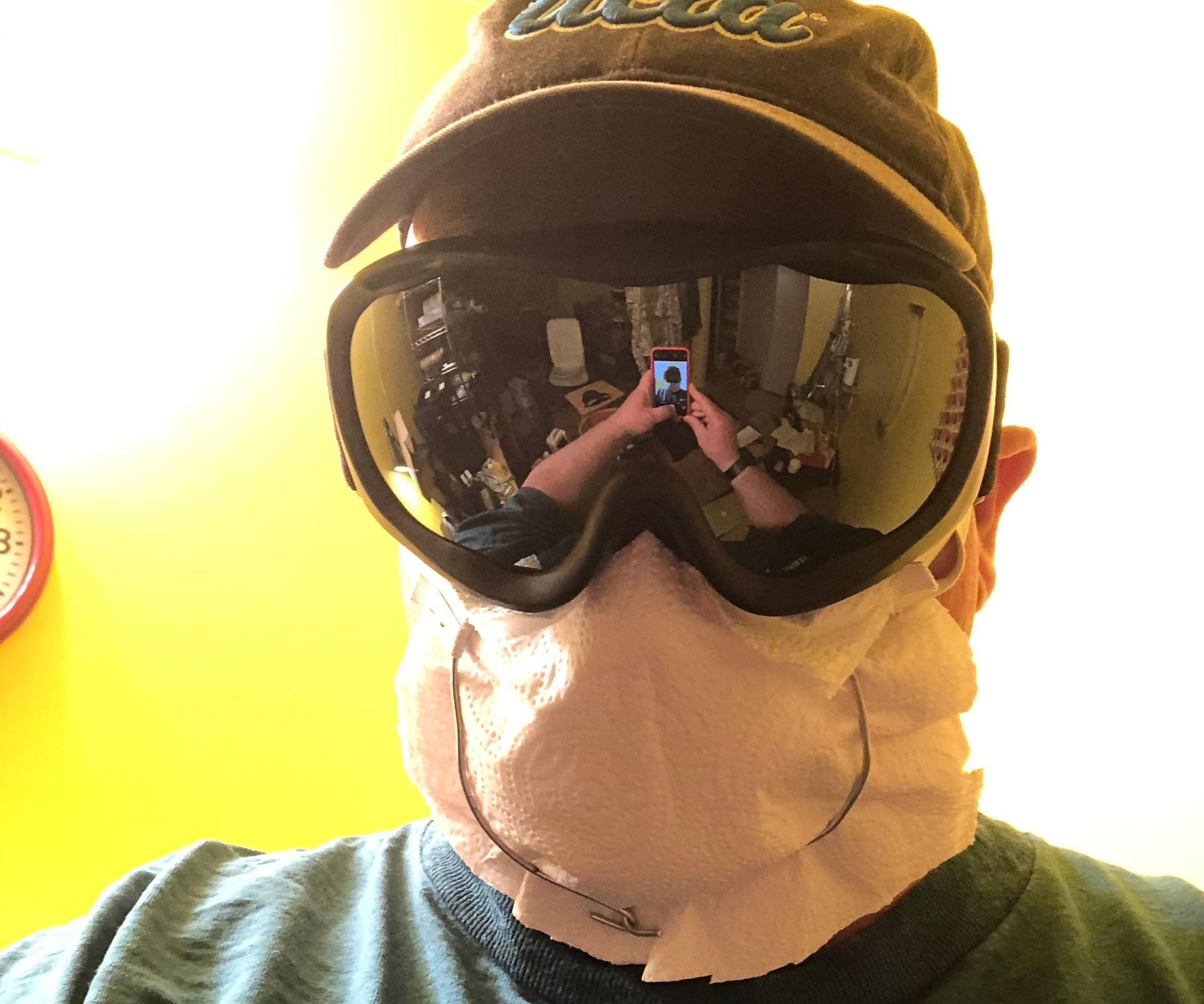 Wire Respirator Mask for 5 Minutes
