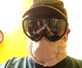 Wire Respiratory Mask in 5 Minutes