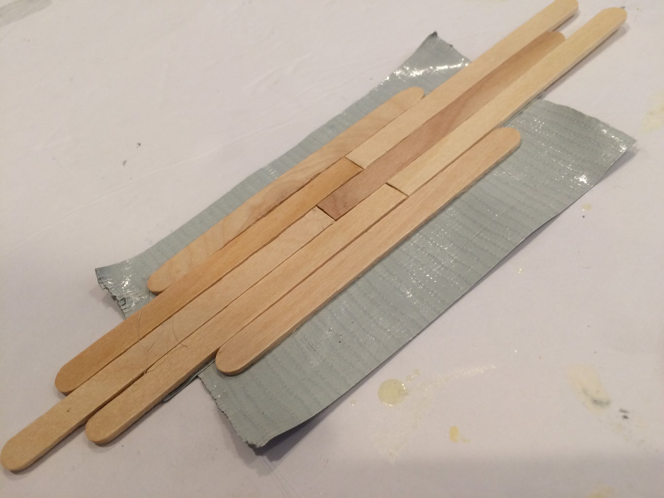 Popsicle Stick Time!