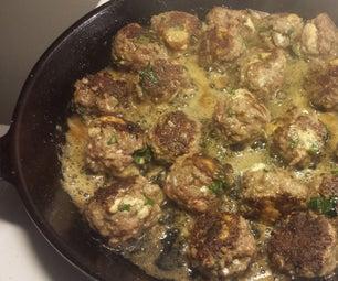 Blue Cheese Meatballs