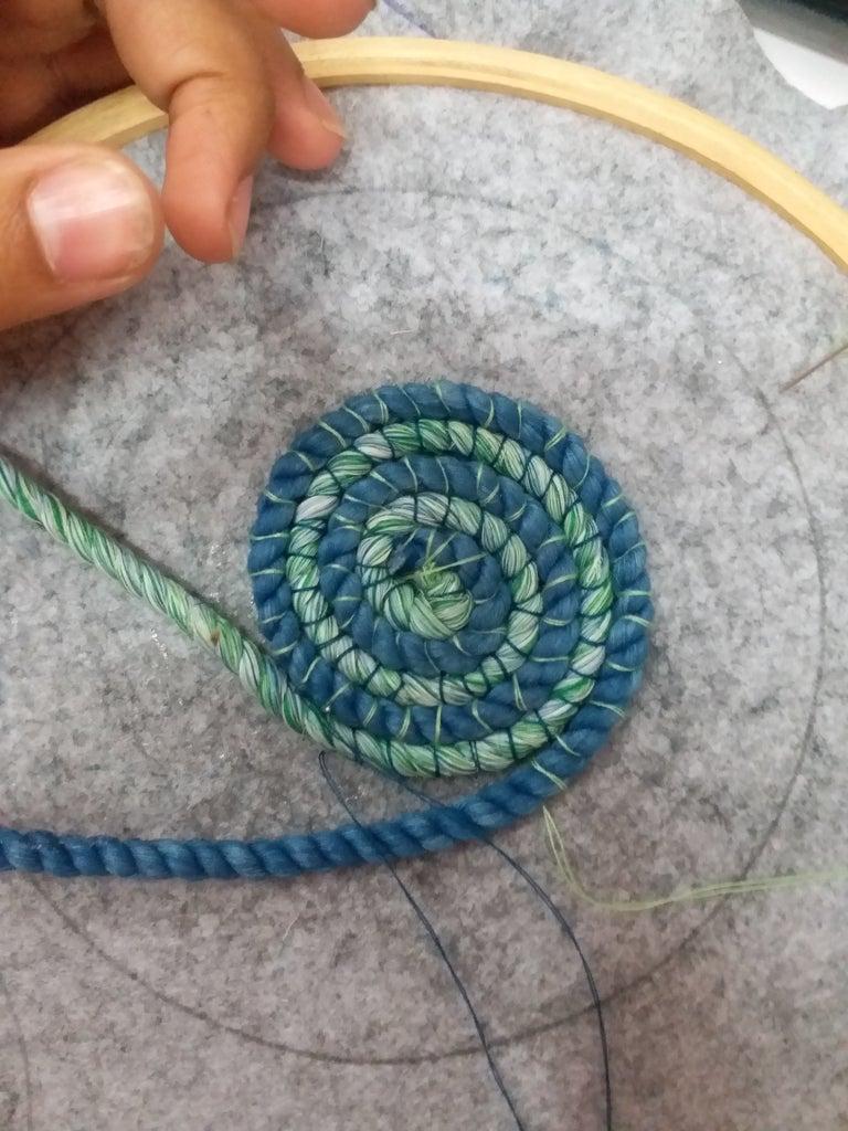 Start to Stitch the Patterns