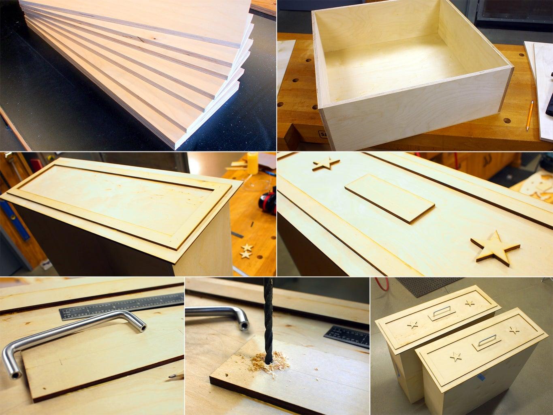 Assemble Drawers