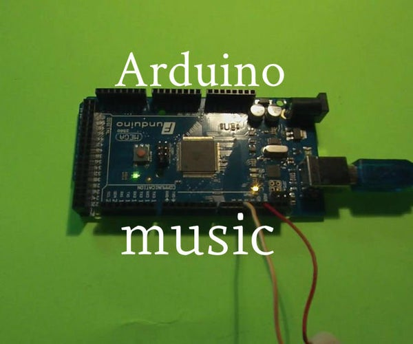 How to Play the Song Scary Monsters and Nice Sprites by Skrillex on an Arduino
