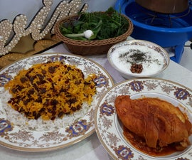 Barberry Rice With Chicken