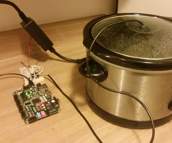 Sous Vide Cooker With Zybo Board