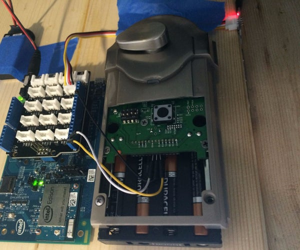 Controlling a Kwikset Smartcode Lock With an Intel Edison