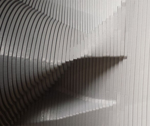 Black / White Sculpture