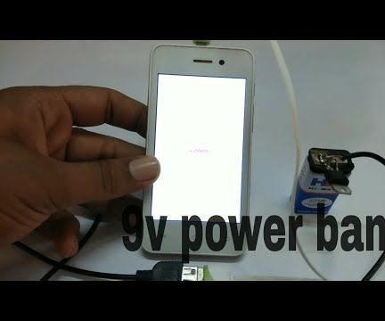 Charging Mobile From 9V Battery