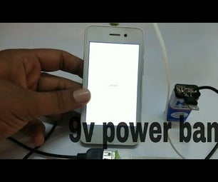 Charging Mobile From 9V Battery