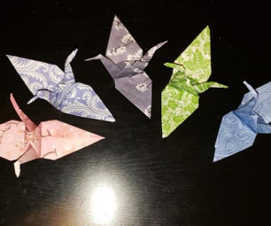 How to Fold a Traditional Origami Crane