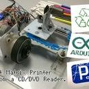 Dot Matrix Printer from a CD/DVD Reader with Arduino