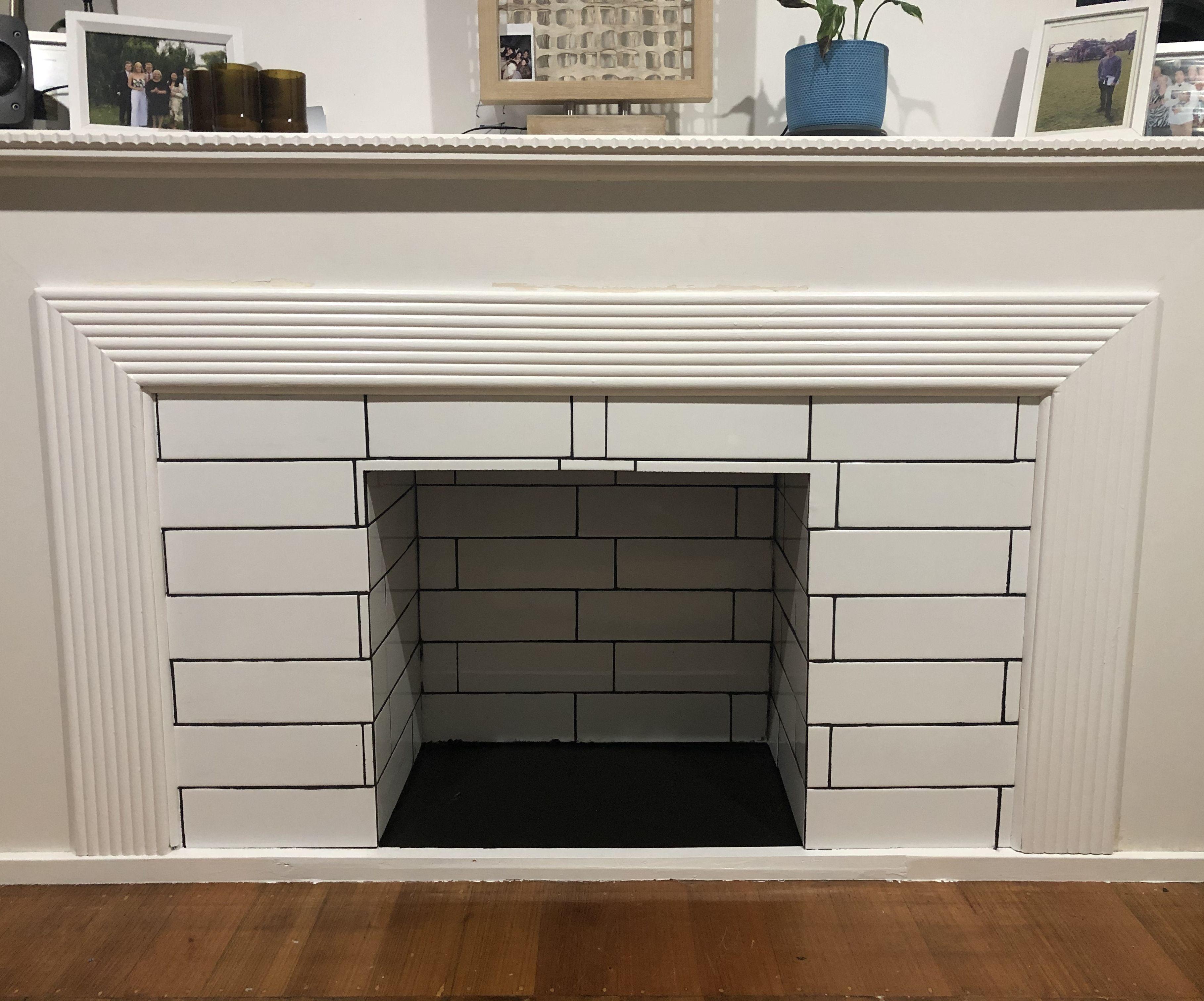 Open Fireplace Improvement