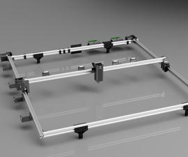Jumbo CNC Laser Etcher Designed With Autodesk Fusion 360