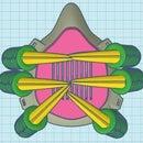 Crear Un Tapabocas De Garras De Dragón En Tinkercad (Create a Dragon Claw Mask in Tinkercad)