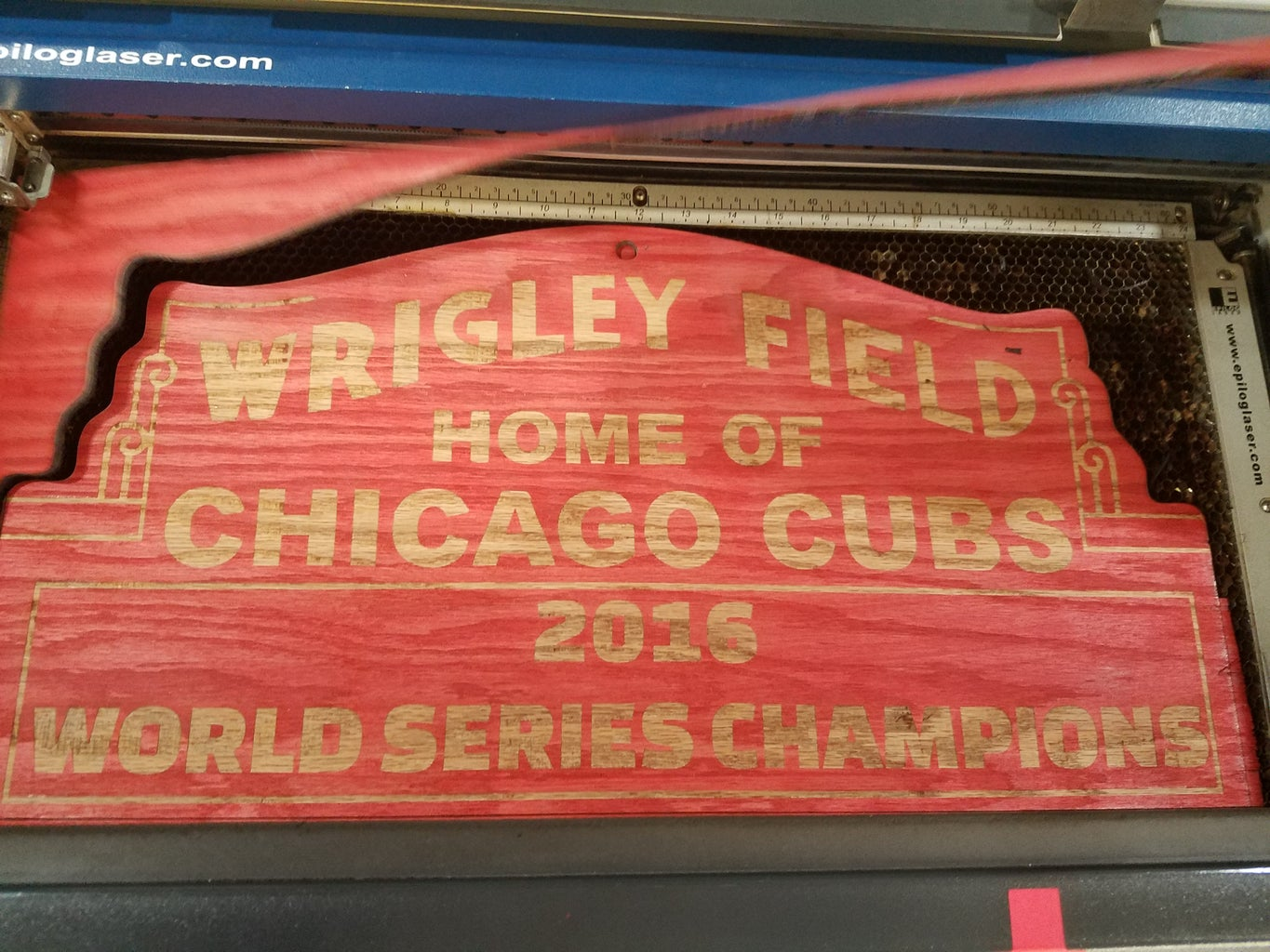 Cubs World Series Champions Wrigley Field Sign!!!!
