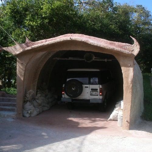 Cement Dome Garage