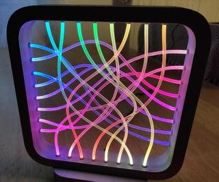 Fiber Optic LED Lamp