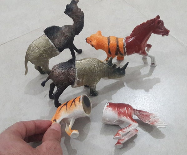 Mix and Match Magnetic Animal Toys