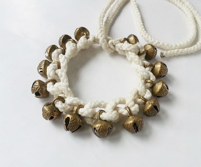 DIY One Layer Ghungur (Anklet)