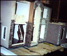 DIY Miniature DollHouse Bricks