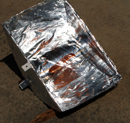 Let's go green! Build a Solar Powered Parabolic Cooker!