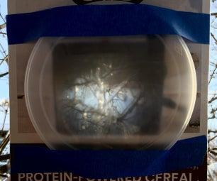 从谷物盒中制作一个相机暗淡的笨蛋 - 或几乎任何其他东西