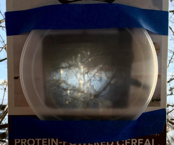 Make a Camera Obscura From a Cereal Box — or Practically Anything Else