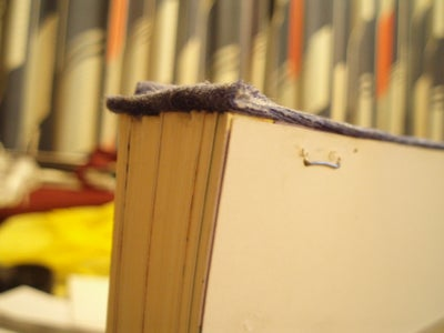 Glueing the Page Spine