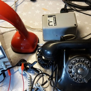 Simple Intercom From a Pair of Old Corded Phones