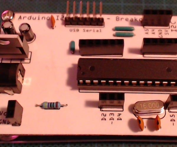 Arduino I2C Master and Breakout