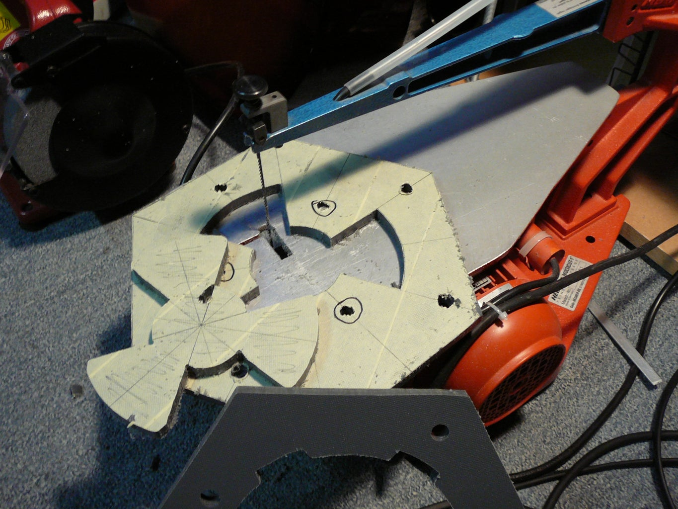 Cutting and Building the Casing