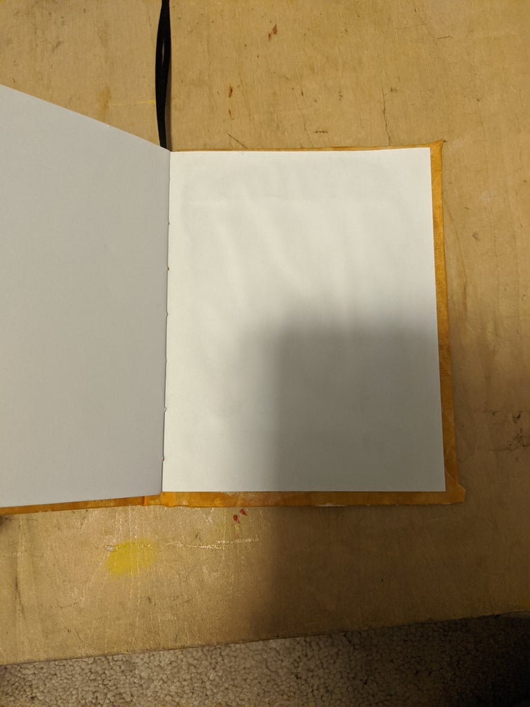 Step Six: Cut, Cover, and Glue Cover
