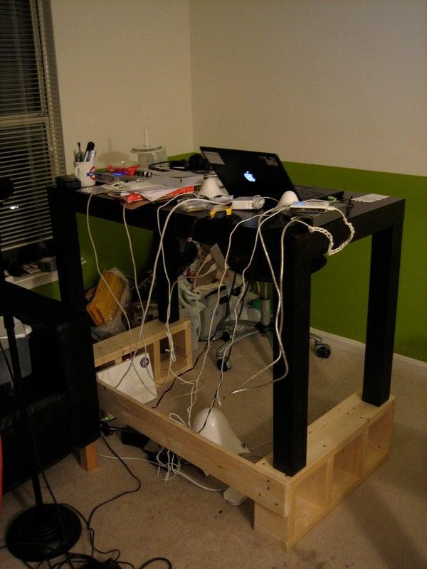 Standing Desk Conversion Platform