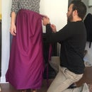 I Sewed My Wife a Skankette (It's a Skirt! It's a Blanket!)