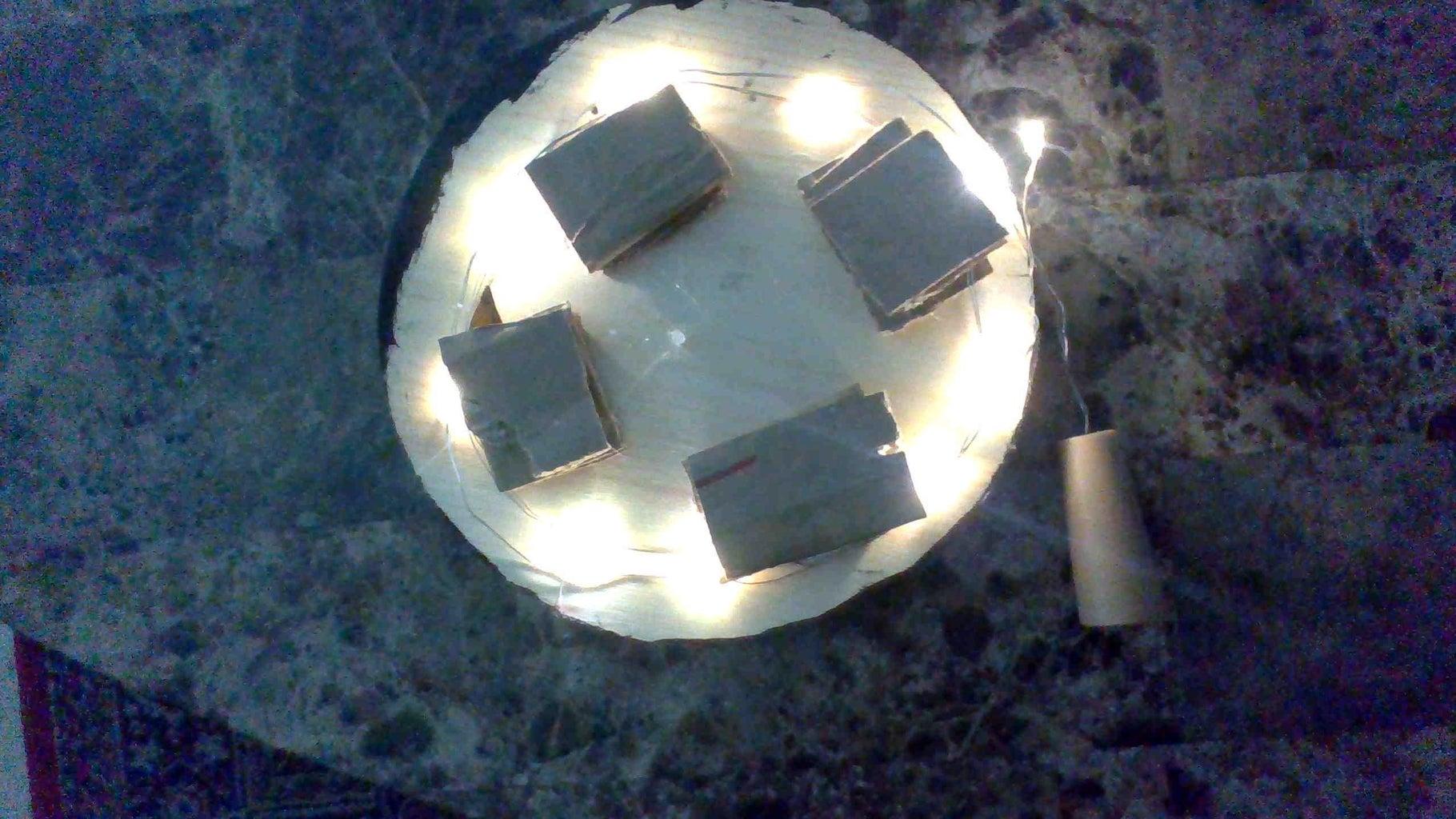 Modge Podge + Led Lights ( Optional )