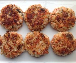 3-ingredient Salmon Patty