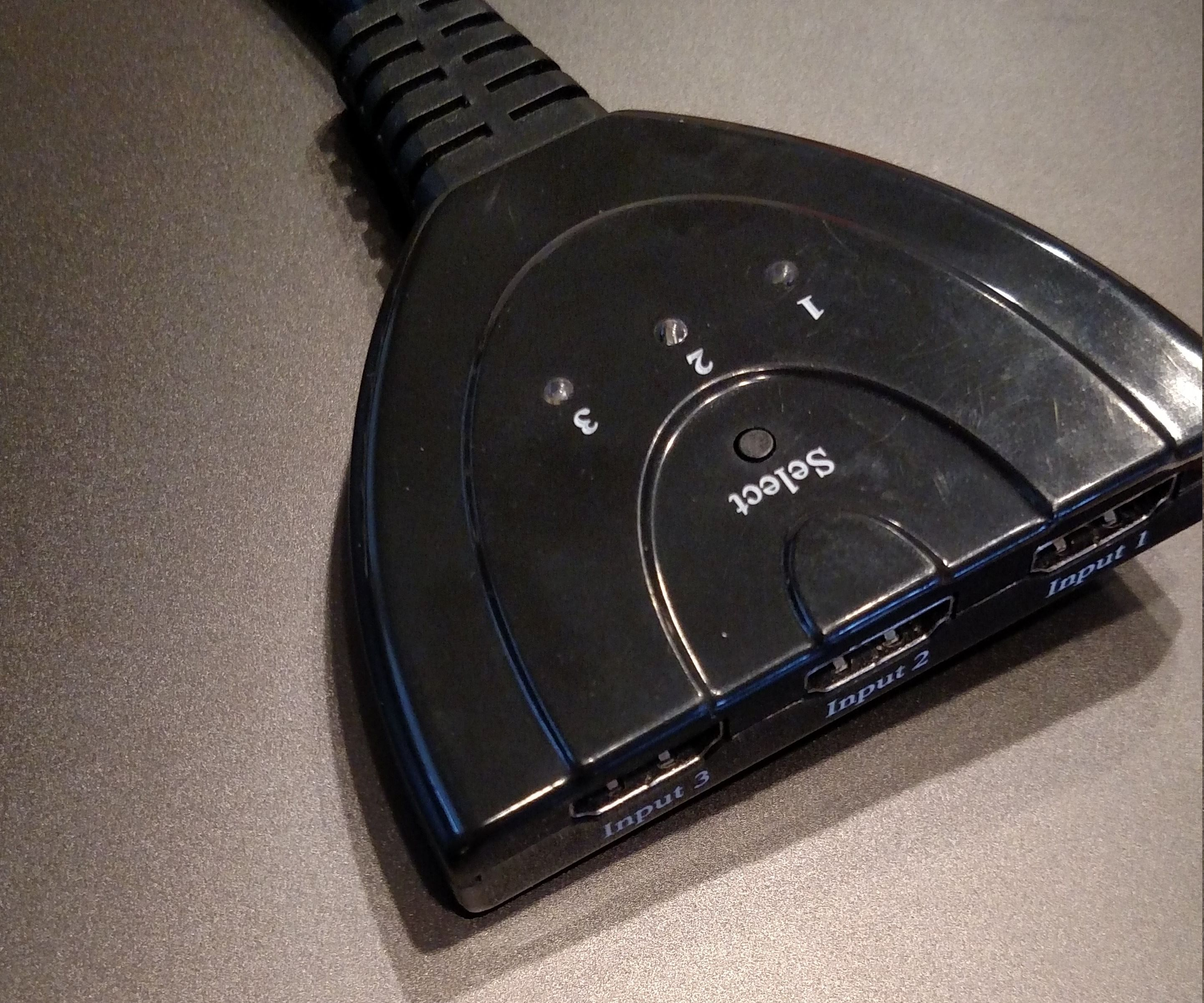 Voice Controlled HDMI Switch