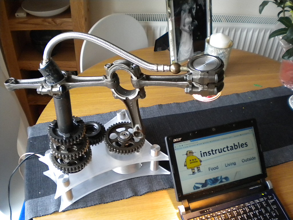 Gearbox Lamp