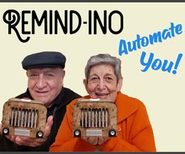 复古警报提醒老人的东西(提醒 -  ino)自动化你!