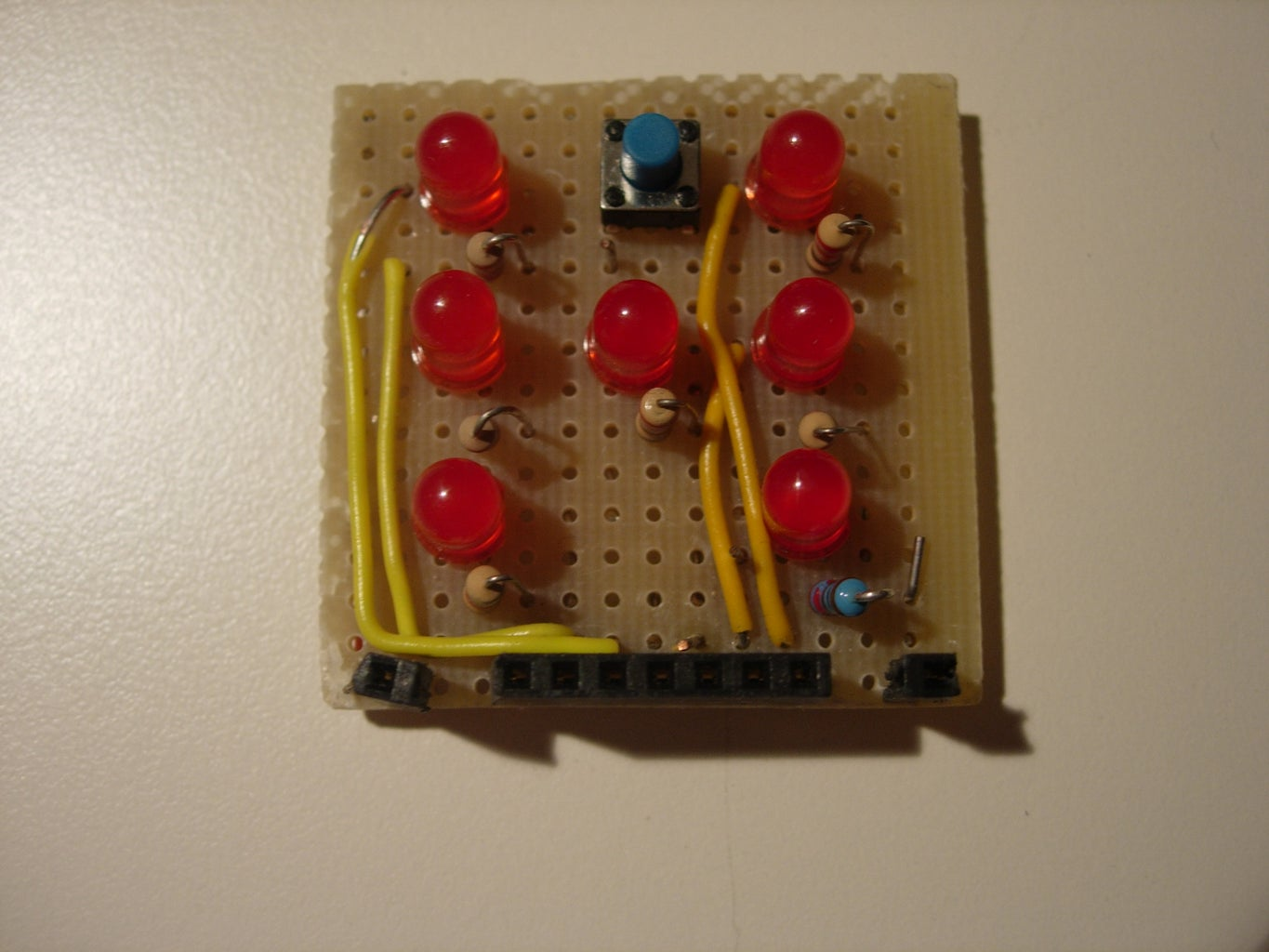 Solder the Arduino Led Dice
