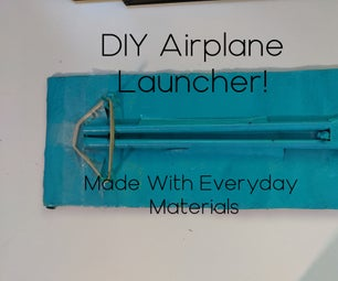 DIY Paper Airplane Launcher