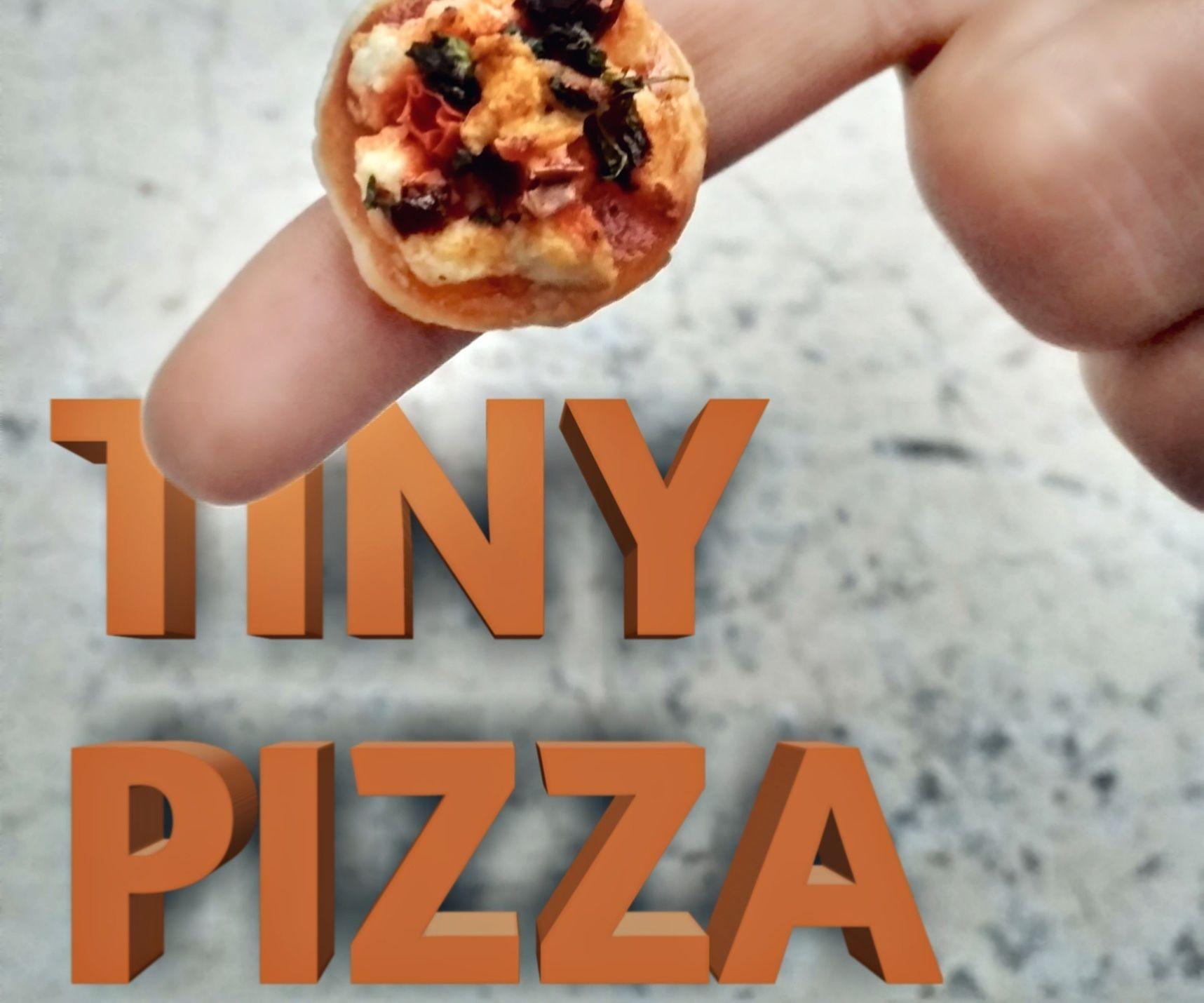 TINY PIZZA 😋    Cute Smallest Pizza