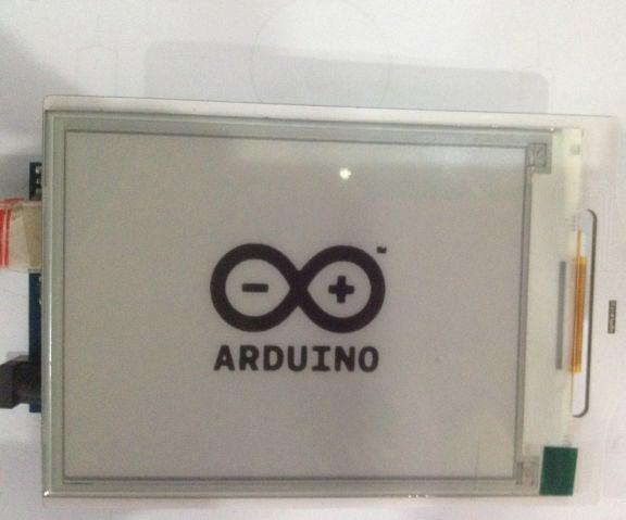 Tutorial of Using E-paper Shield on Arduino
